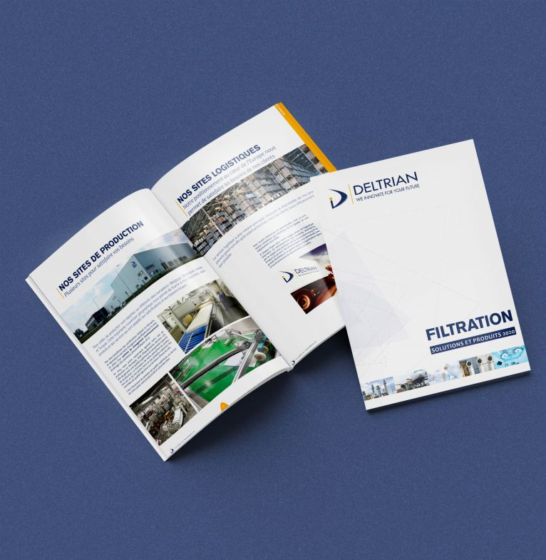 Perfect Binding Brochure Mockup 5